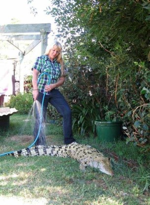 FOTO: Zo leeft de 'Croc Lady'