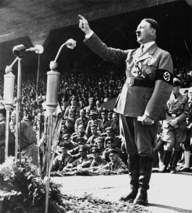Adolf Hitler at 's morgens graag boterham met confituur