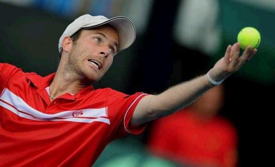 Olivier Rochus brengt België langszij in Davis Cup