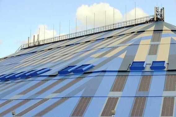 Antwerps Sportpaleis pronkt met nieuw dak