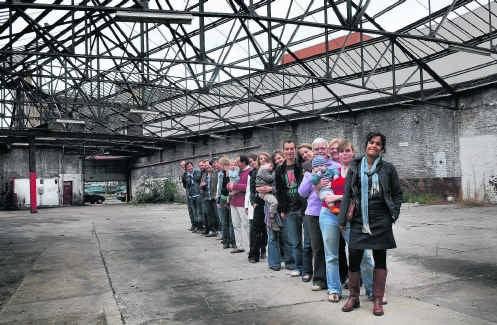 Met Brutopia verenigen mensen zich op zoek naar een betaalbare woning in Brussel.Herman Ricour