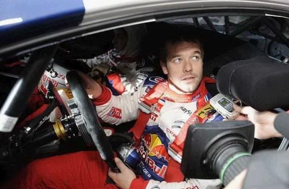 Loeb is zevende keer wereldkampioen rally