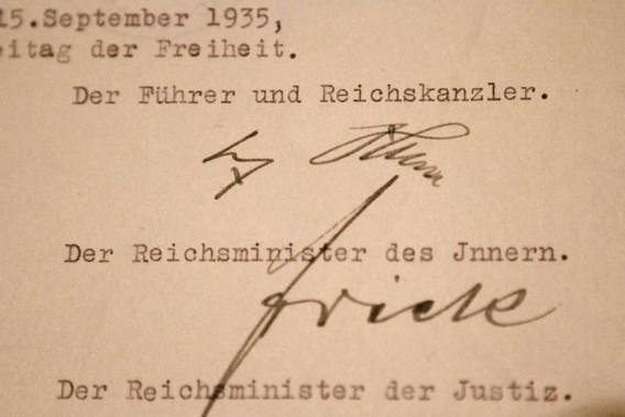 Nürnbergwetten te bezichtigen in Washington