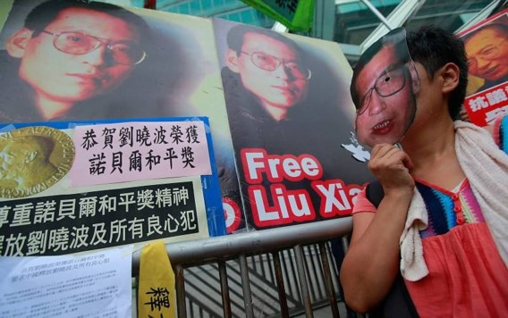 Liu draagt prijs op aan doden van Tiananmen