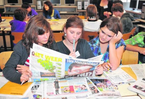 'Jongeren lezen wel degelijk nog de papieren krant', zegt Katia Segers.Marc Herremans