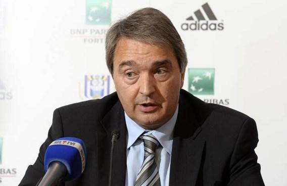 Anderlecht: 'Dit is een nederlaag voor het voetbal'