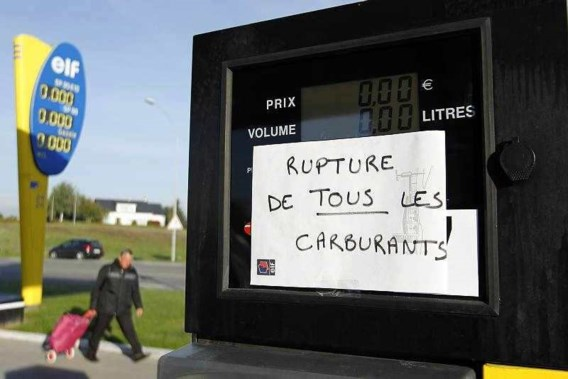Nog altijd brandstoftekort in Parijs en westen Frankrijk