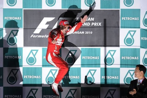 Alonso wint incidentrijke GP van Zuid-Korea