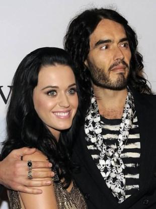 Zangeres Katy Perry en acteur Russell Brand getrouwd