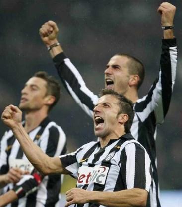 Alessandro Del Piero schrijft geschiedenis voor Juventus