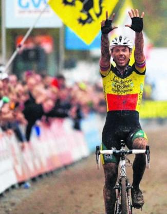 Nys kan eindelijk weer juichen. Na een moeilijke maand won hij voor de achtste keer op de Koppenberg.belga