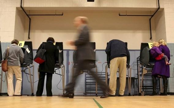 Amerikaanse stembussen zijn open