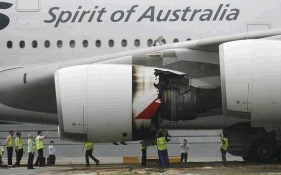 Rolls-Royce vindt euvel in motor Qantasvliegtuig