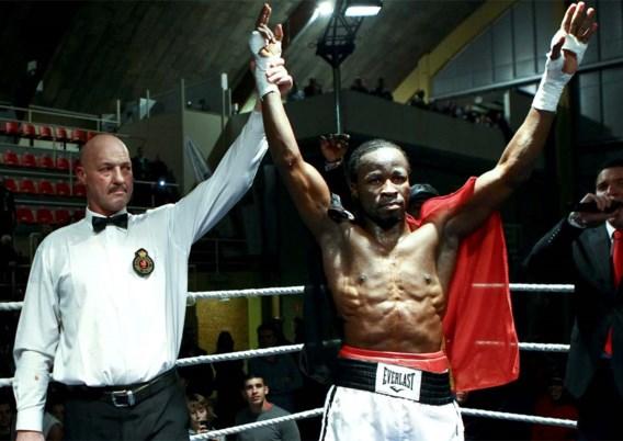 Bokser Sugar Jackson wint opnieuw