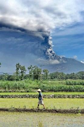 Dodental vulkaan Merapi blijft oplopen