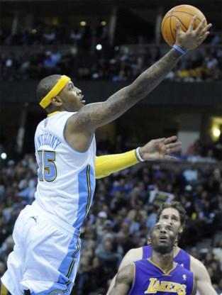 Eerste nederlaag voor LA Lakers