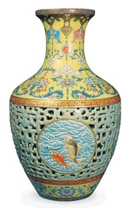 Recordbedrag voor porseleinen Chinese vaas