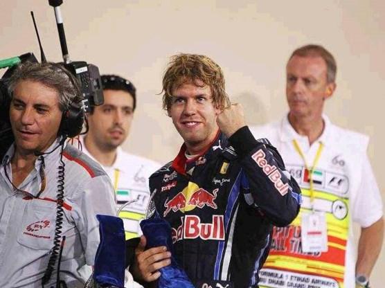 Sebastian Vettel pakt wereldtitel in slotrace