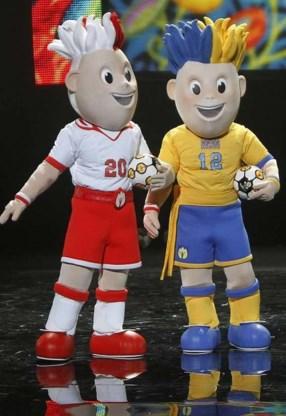 Mascottes EK 2012 gepresenteerd