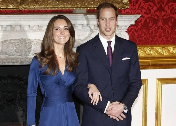 Britse prins William stapt volgend jaar in het huwelijksbootje