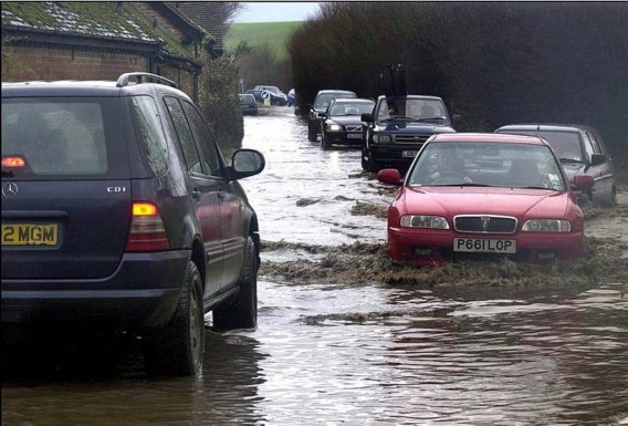 Ook watersnood in Groot-Brittannië