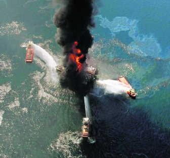 Toen het olieplatform van BP in de Golf van Mexico ontplofte, streamde Citymesh wereldwijd de videobeelden van het lek.ap