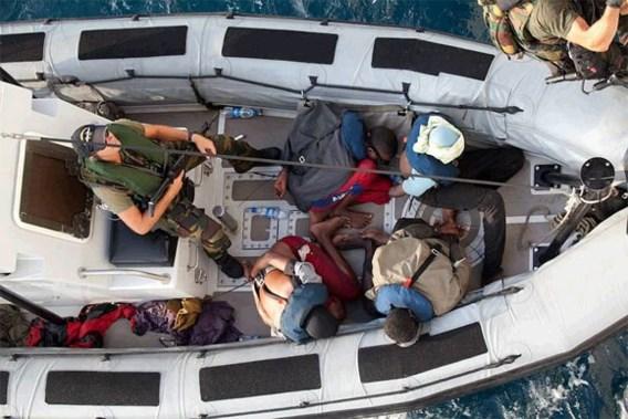 Belgische fregat pakt zeven vermoedelijke piraten op