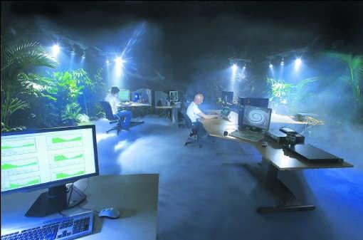 De website Wikileaks wordt nu gehost door servers van het Zweedse internetbedrijf Bahnhof. Bahnhof is gehuisvest in een ultramodern en zwaar beveiligd complex, dertig meter onder de grond. Rob Schoenbaum / Banhof Ab