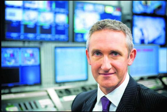 Netmanager Jean Philip De Tender: 'We kijken nu naar wat de twee zenders gemeen hebben.' Lies Willaert