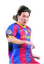 Lionel Messi.afp
