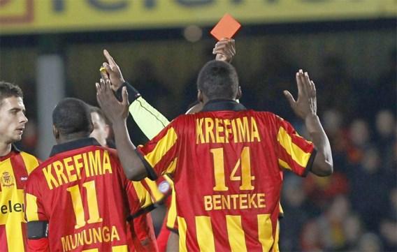 Christian Benteke (KV Mechelen) aanvaardt schorsing