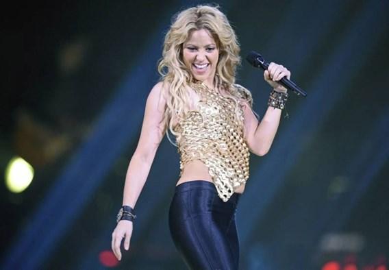 De split-rate van Shakira