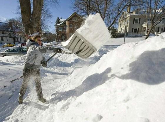 FOTO: Tornado's en sneeuwstormen in Amerika