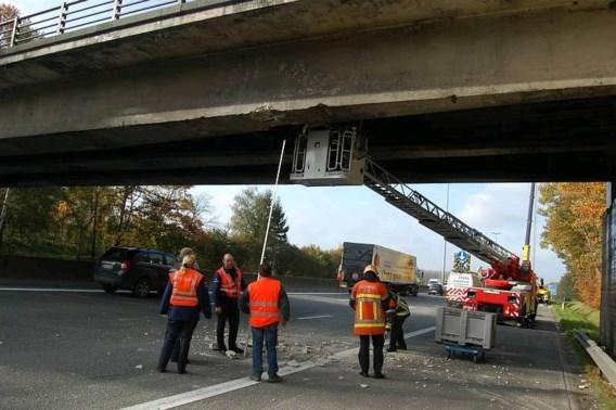 E40 dit weekend afgesloten in Affligem voor afbraak brug