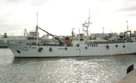 Zoektocht naar 17 vermisten Zuid-Koreaanse vissersboot stopgezet