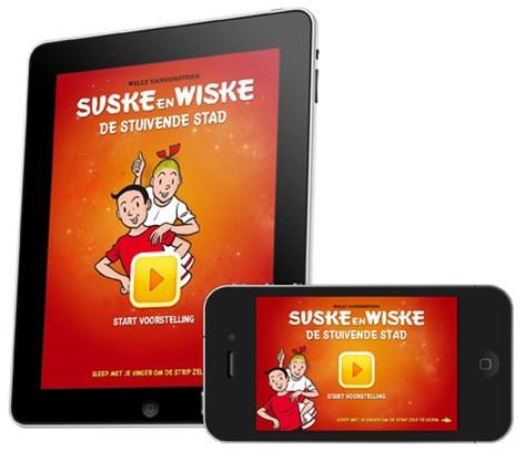 iPad-app Suske & Wiske al 80.000 keer gedownload