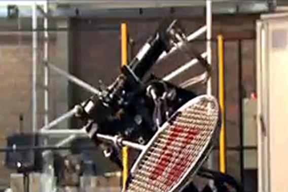 Badmintonrobot FMTC-onderzoekers is wereldprimeur
