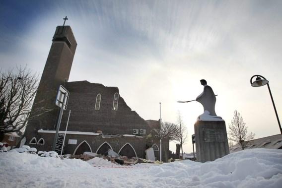Kerk in Diepenbeek ingestort  na middernachtmis