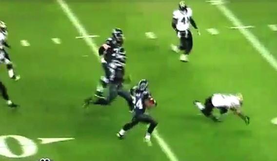 VIDEO: Beste touchdown ooit?