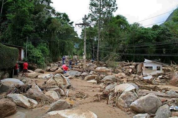 Meer dan 500 doden door noodweer Brazilië