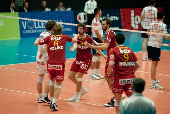 Roeselare-Belchatow en Maaseik-Budva in 1e ronde play-offs Champions League volley