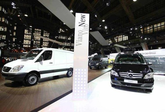 Prijs voor automatisch stopsysteem Mercedes-trucks