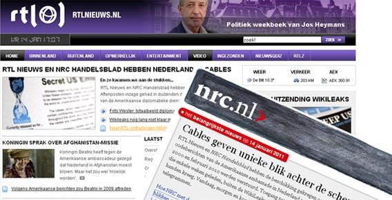 NRC en RTL Nieuws kijken Amerikaanse diplomatieke stukken in