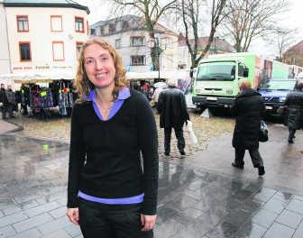 Isabel Savenberg wil werken aan de perceptie bij de inwoners van Halle. Yvan De Saedeleer