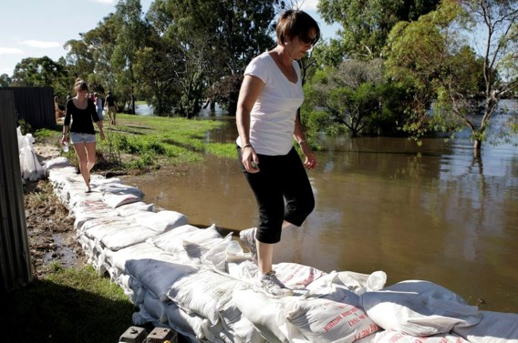 Nu ook overstromingen in het zuiden van Australië