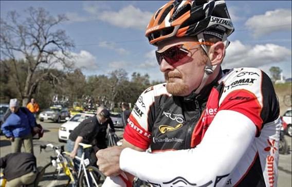 Moegestreden Landis zegt wielersport definitief vaarwel