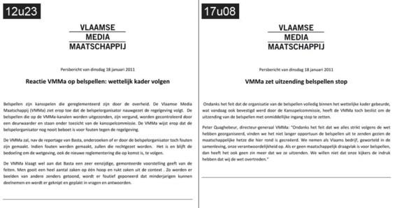 VTM neemt bocht van 180 graden over belspellen