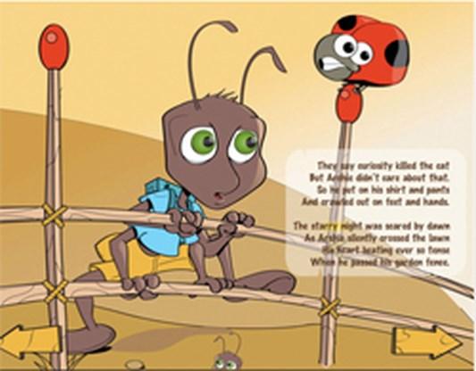 Interactieve mier wil wereld veroveren via iPad