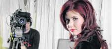 Anna Chapman: intussen wereldberoemd. afp