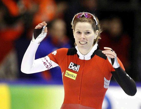 Christine Nesbitt wint WK sprint